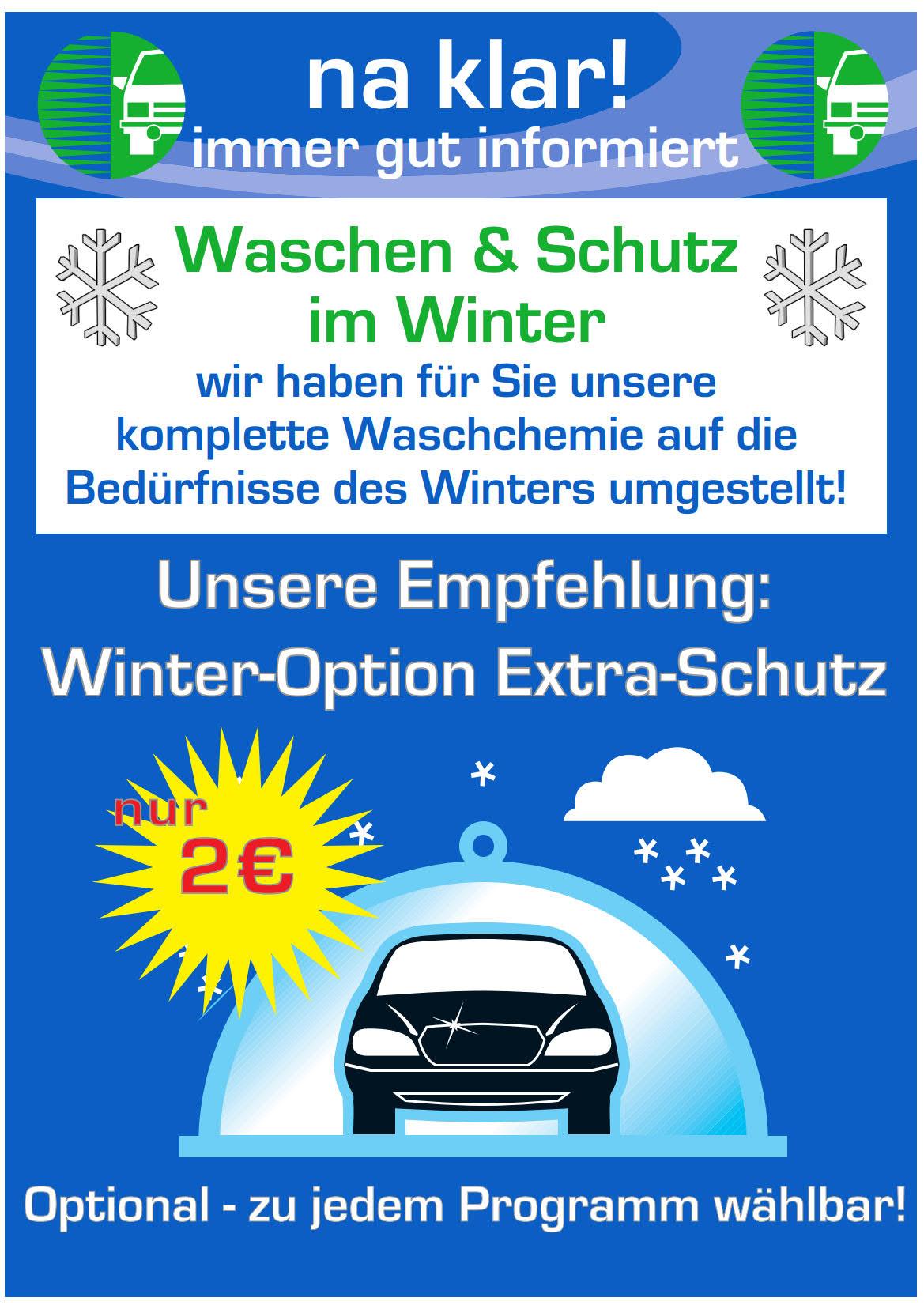 Winterchemie und EXTRA-Schutz